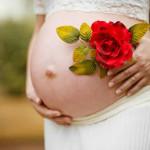 une femme enceinte