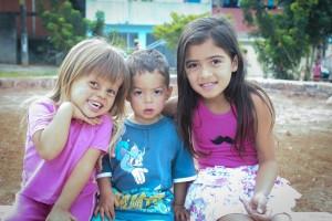 les enfants en vacances