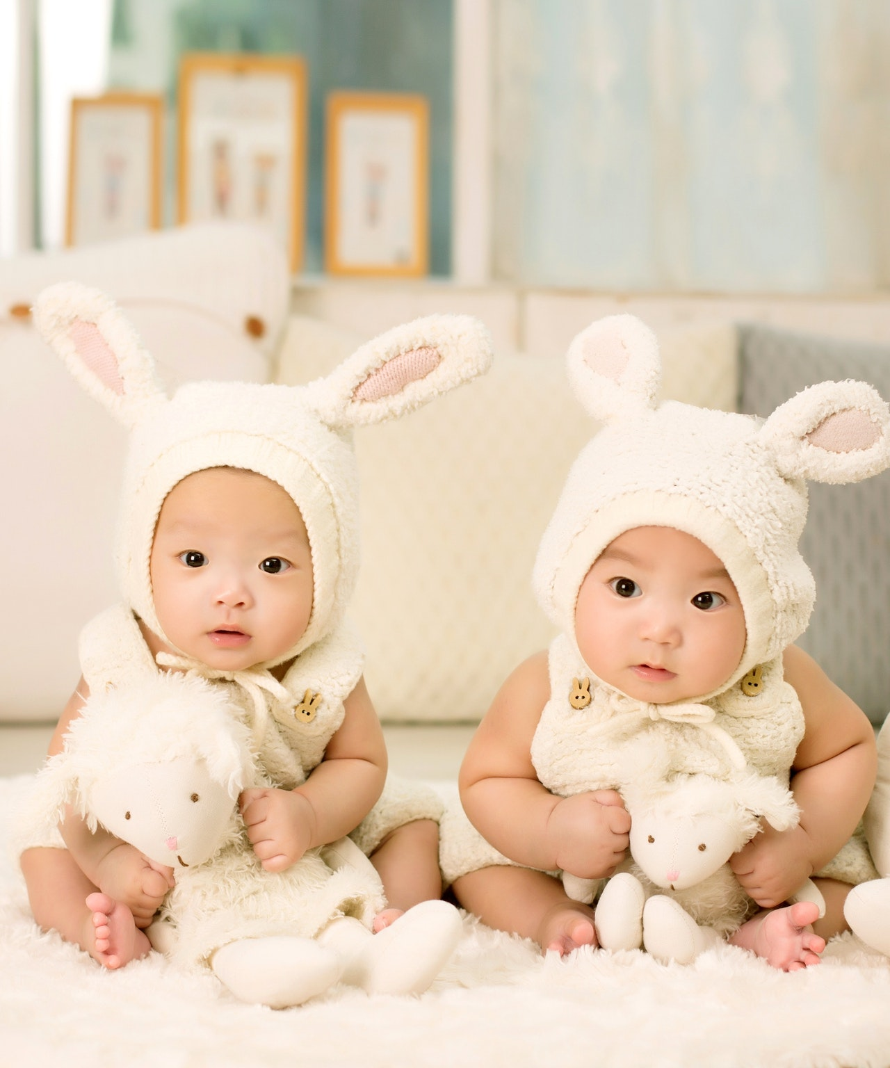 un cadeau de naissance pour jumeaux